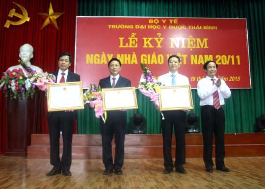 Trường Đại học Y Dược Thái Bình tổ chức Lễ kỷ niệm ngày Nhà giáo Việt Nam 20/11.