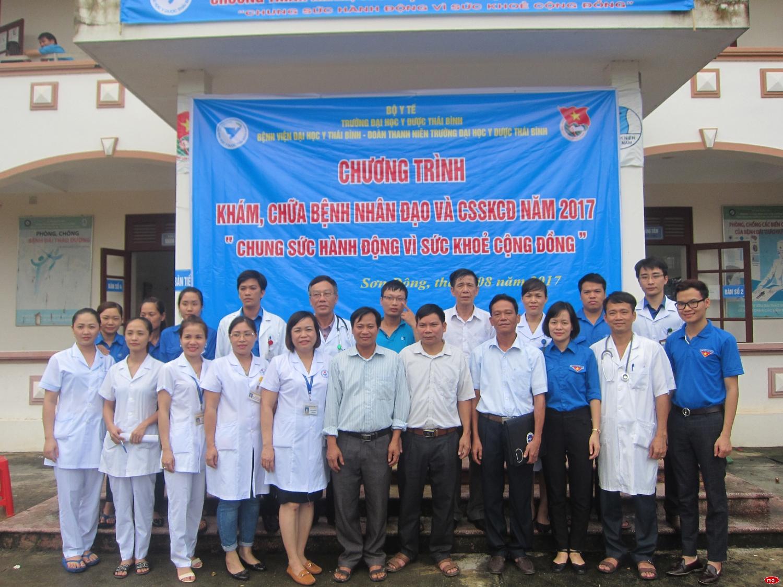 Bệnh viện Đại học Y Thái Bình tổ chức khám bệnh tình nguyện tại huyện Sơn Động, Bắc Giang